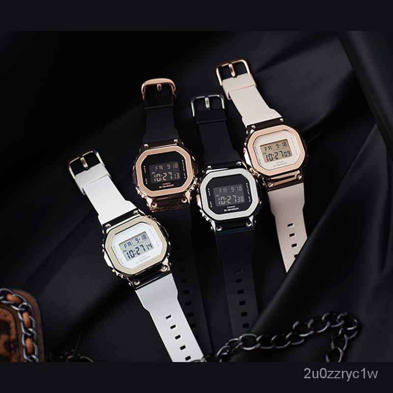 新品速遞卡西歐手錶G-SHOCK GM-S5600PG-1/G-7/4/5600B-1/3電子運動男腕錶夏季新品