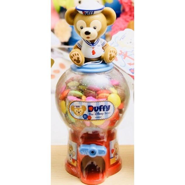 香港購回 香港迪士尼 Disney 達菲轉蛋糖果罐 達菲熊 Duffy 迷你轉蛋機 迷你扭蛋機 糖果扭蛋機 糖果轉蛋機