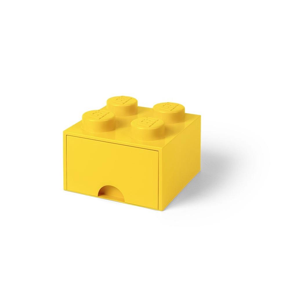 LEGO 40051732 經典系列 樂高抽屜2x2-黃色【必買站】 樂高周邊商品