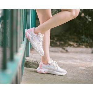 PUMA Storm Origin 玫瑰粉 奶油白 糖果粉 白色 厚底 老爹鞋 泫雅 36977004