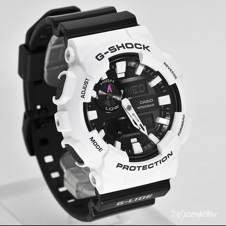 新款速遞卡西歐手錶男G-SHOCK GAX-100B-7A/1A 100CSA-4A運動電子計時腕錶 2gn5秋季夏季新