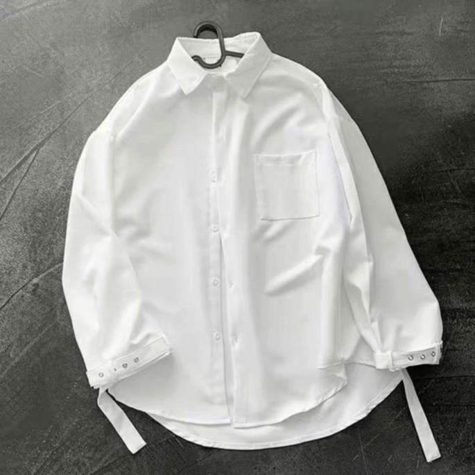 【M世代】新款襯衫男長袖韓版潮流寬鬆襯衣男士男生衣著襯衫長袖襯衫(CLEPC21)