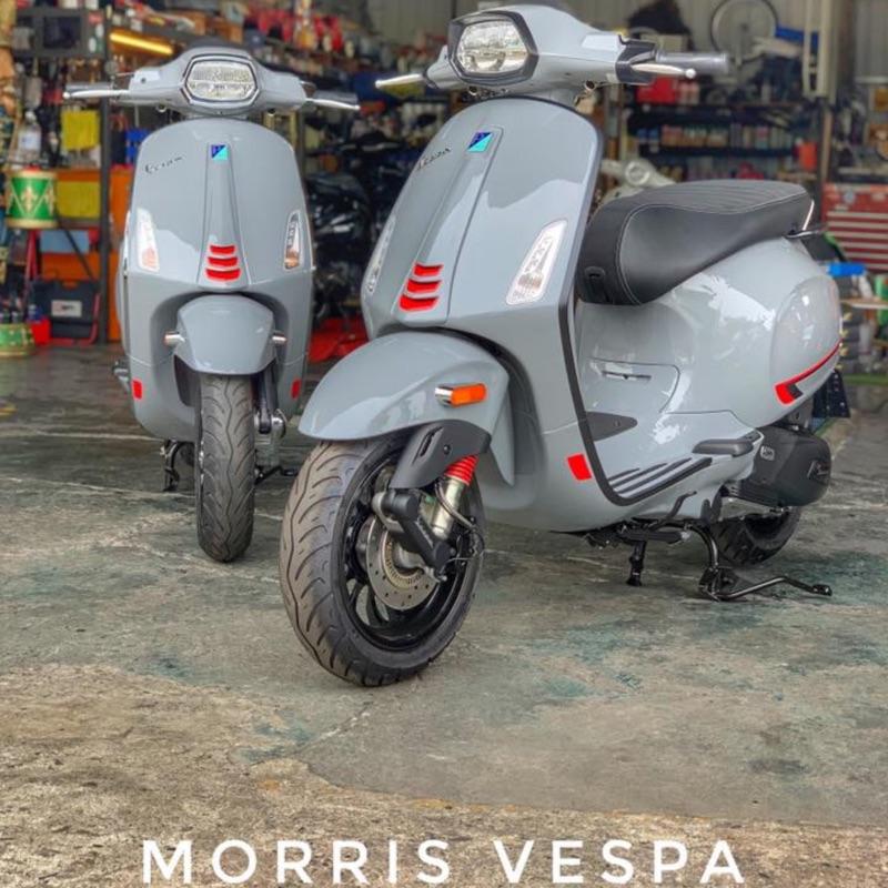 [ Morris Vespa ] Vespa sprint S 150  風暴灰