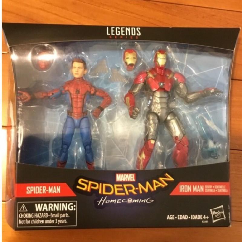 Marvel Legends 漫威傳奇 6吋 返校日 Spiderman 蜘蛛人 鋼鐵人 馬克47號 MK47 美版現貨