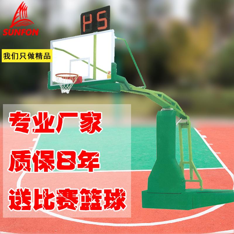沃爾克室外電動液壓籃球架專業比賽用體育運動用品籃球架健身器材