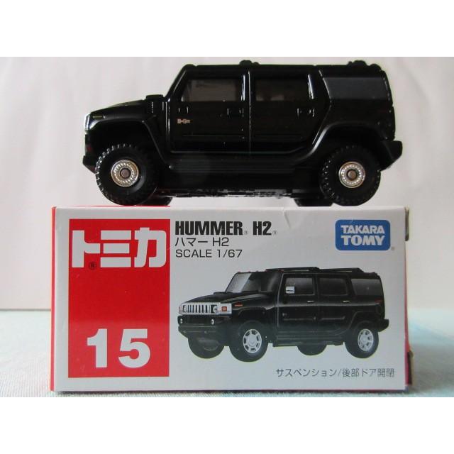 包膜 運費依蝦皮TOMY 15 tomica 15 HUMMER H2 悍馬黑色大腳越野車 吉普車 越野之王 軍車 多美