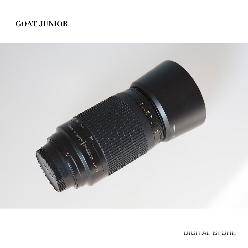 Nikon尼康AF70-300mm f4-5.6G全畫幅小紙炮長焦遠攝變焦鏡頭 二手