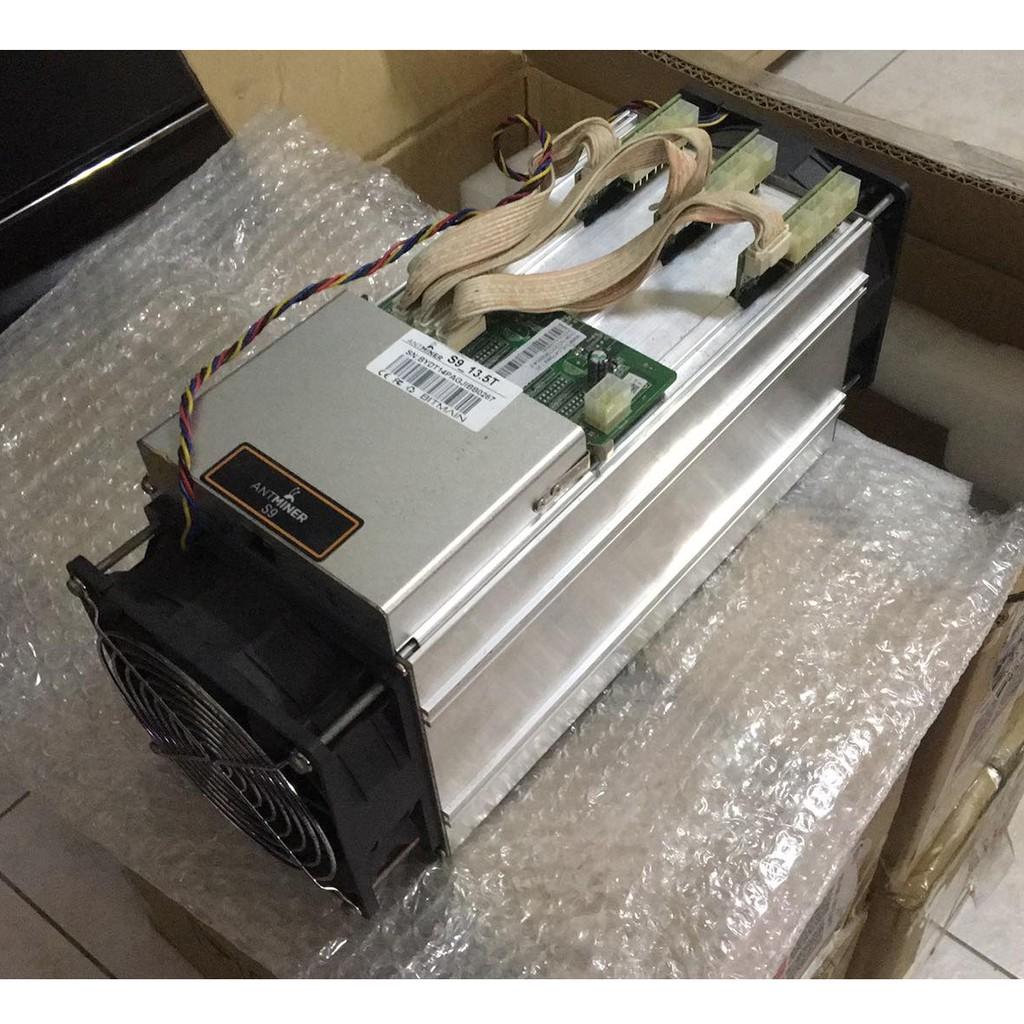[未聊聊請勿下單]Bitmain Antminer S9 13.5T 螞蟻礦機 比特幣礦機 含官方電源供應器(請另下單)