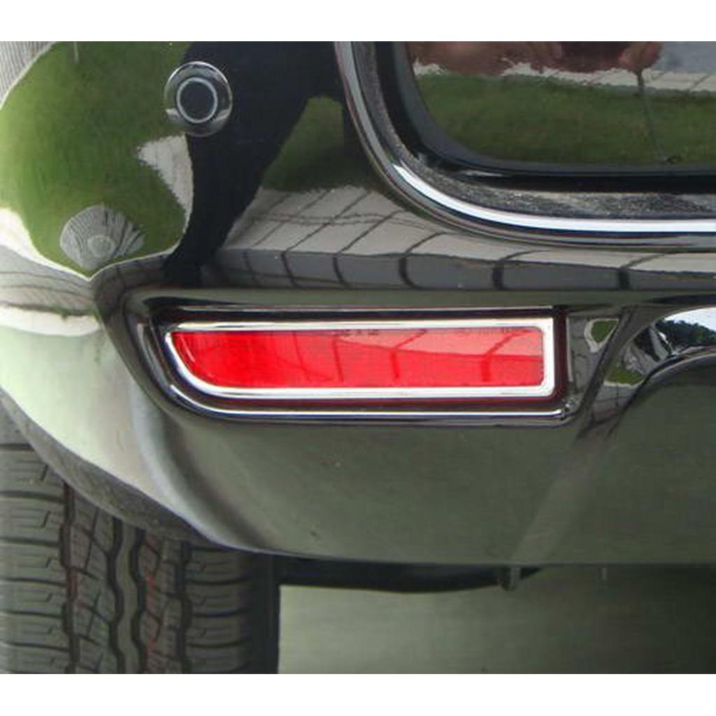 Toyota Previa 2006-2015年 鍍鉻後保桿燈框 後反光片框