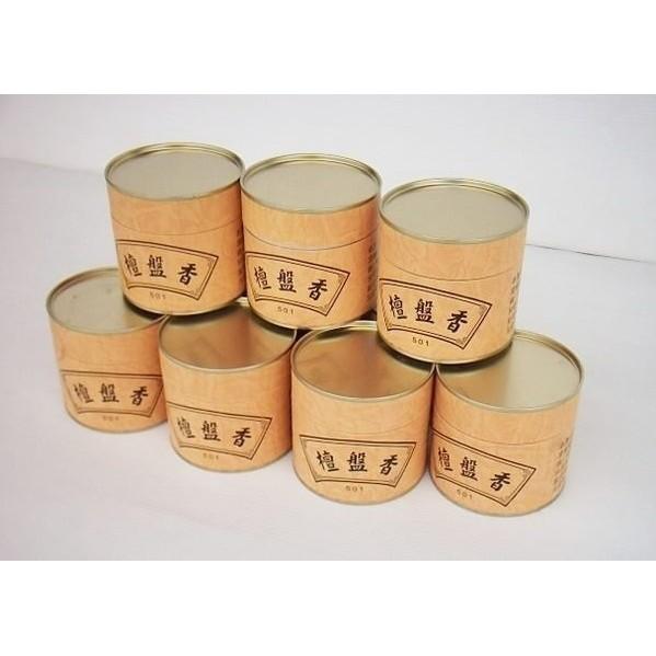 【小工人】台灣製 老山小盤香 環香 檀香粉製造 46片內裝 不含人工香料 靜心平氣的推手 一標10罐