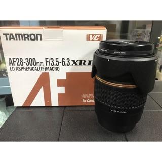 中古 TAMRON 28-300 F3.5-6.3 CANON用(EF系統.6D2.5D2.5D3.5D4可沿用