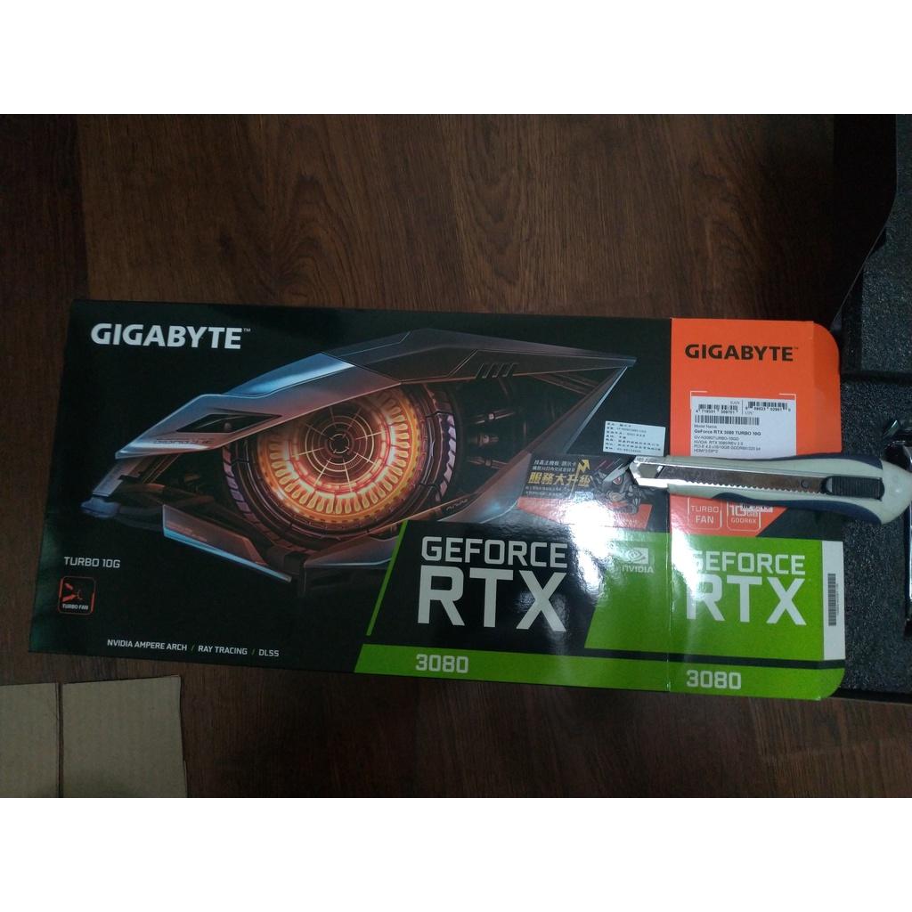 全新未上機 技嘉 RTX3080 TURBO 10G(rev2.0)