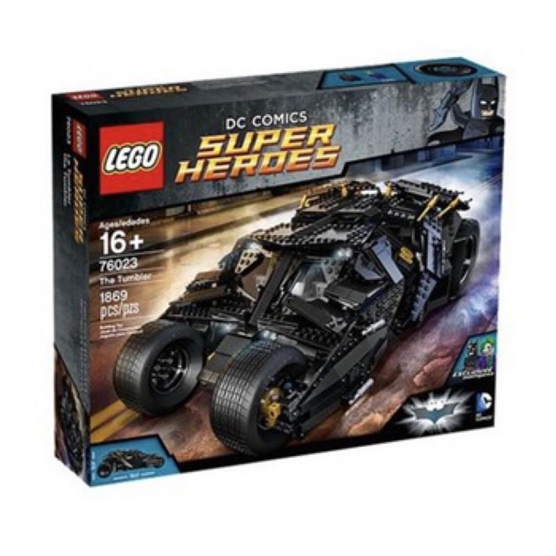 LEGO 76023絕版蝙蝠車現貨(無盒商品)