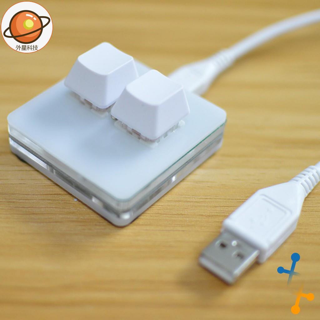 【外星優選】免運 2鍵 機械鍵盤小鍵盤 osu鍵盤 音遊鍵盤(現貨狀態)