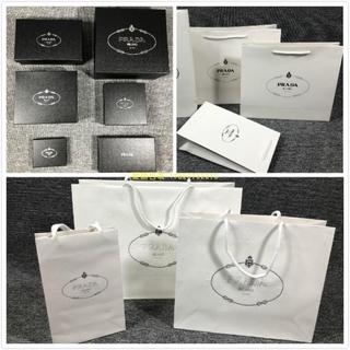 ﹉▪普拉達Prada紙袋香水盒衣服圍巾盒錢包皮帶盒布袋手提禮品袋包裝