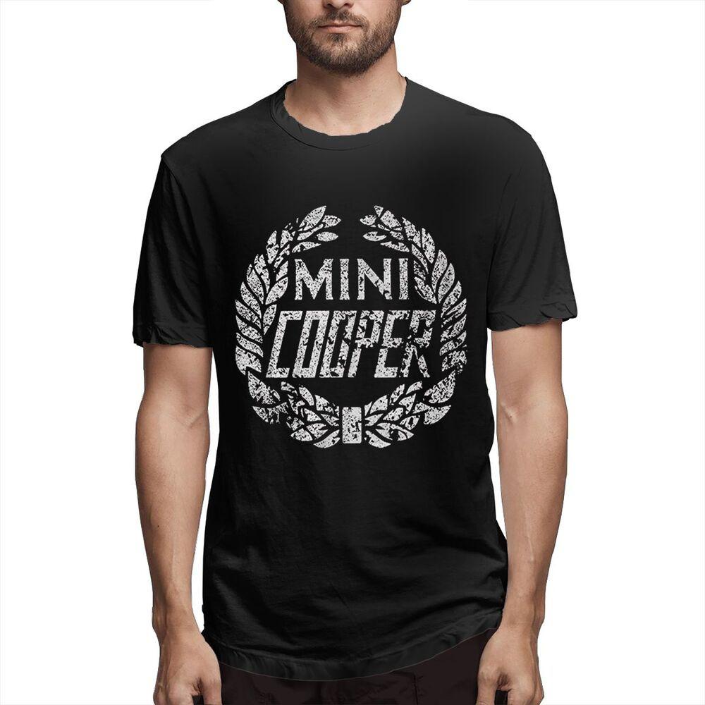 超大男士頂級金屬 Gildan 棉質 T 恤 Mini Cooper Diy 男士 T 恤送給爸爸的生日禮物