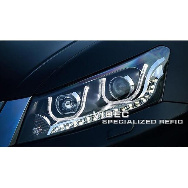 巨城汽車精品 HONDA 雅歌 八代 8.5代 08-12 ACCORD K13 大燈 總成 DRL 日行燈 導光 大燈