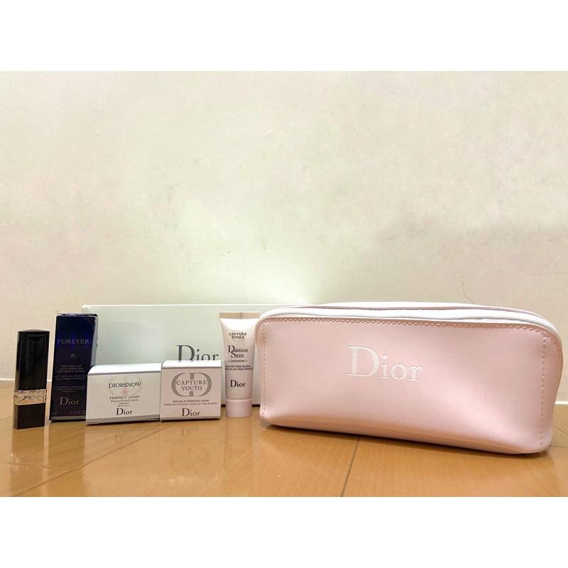 dior化妝包(內有贈品組)