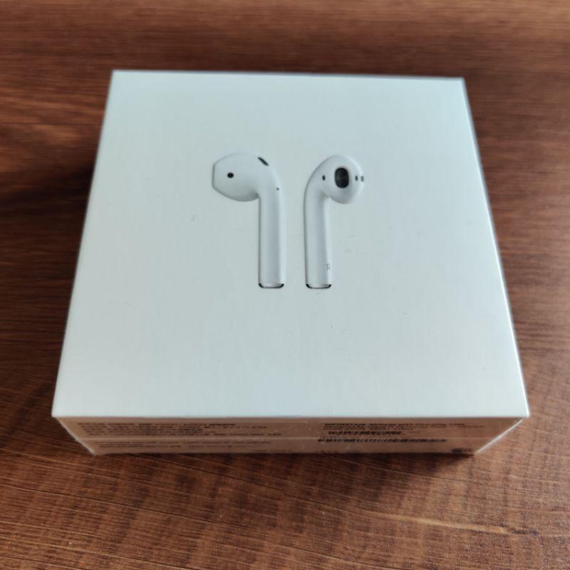 【神腦公司貨可提供出貨明細】全新未拆蘋果耳機Apple AirPods2 (有線充電盒)
