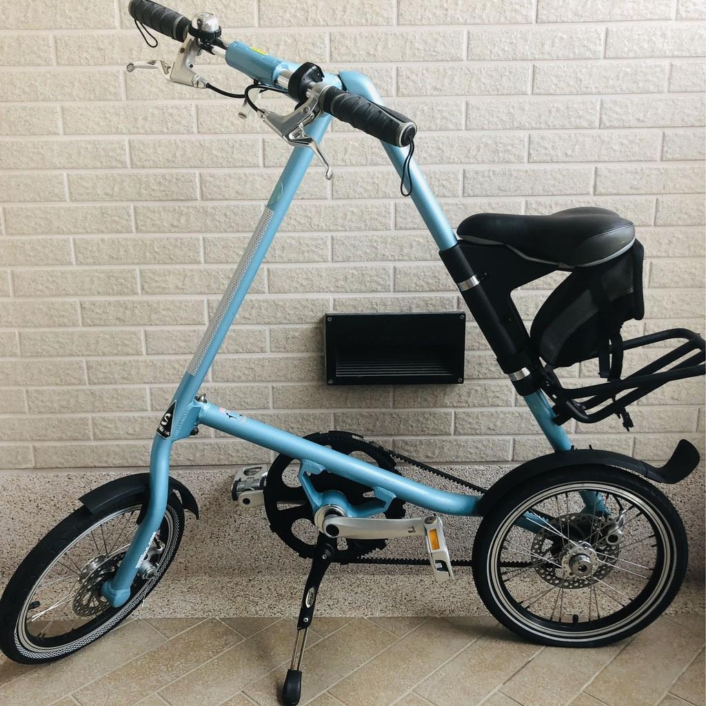 STRIDA 速立達 摺疊腳踏車 稀有車色 薄荷藍 14寸 (台灣公司貨)