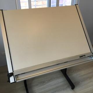 [二手]恰得美chartmateA1加大重鎚式製圖桌,贈腳架 新北市