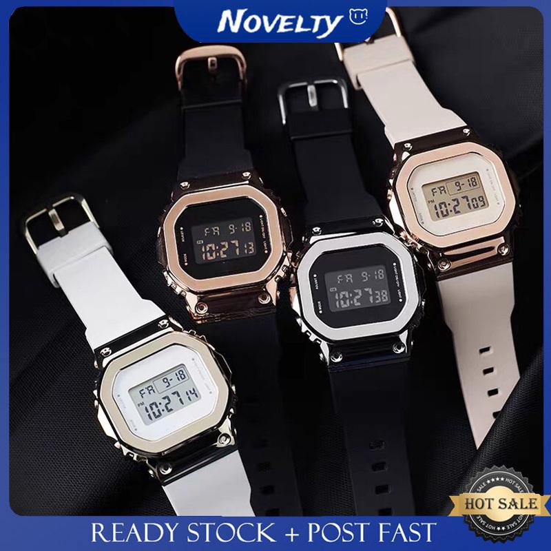 Gm S5600 復古金屬小方形女士手錶