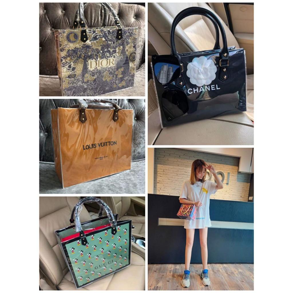 免運 HERMES CHANEL GUCCI LV紙袋改造配件 配飾 同款 香奈兒紙袋改造材料包 包包掛件 Dior紙袋