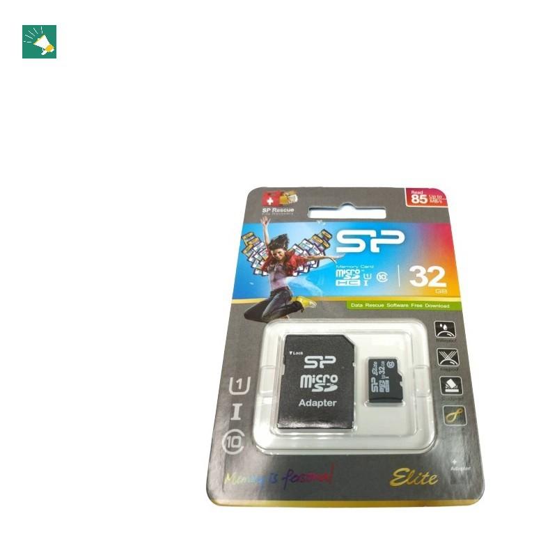 SP 廣穎 micro SD 32G 高速型 記憶卡 手機 行車記錄器 監視器 攝影機 最低價【終身保固】