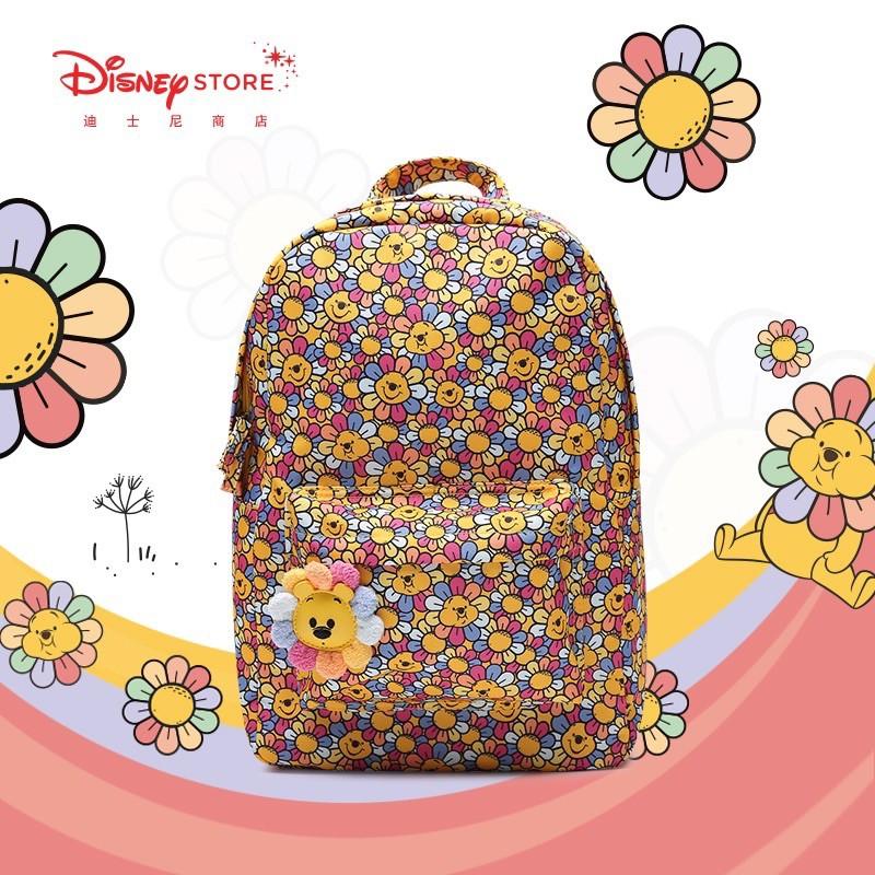 現貨 特價 上海迪士尼  太陽花維尼 小熊維尼 維尼  書包 後背包 萬用包 包包