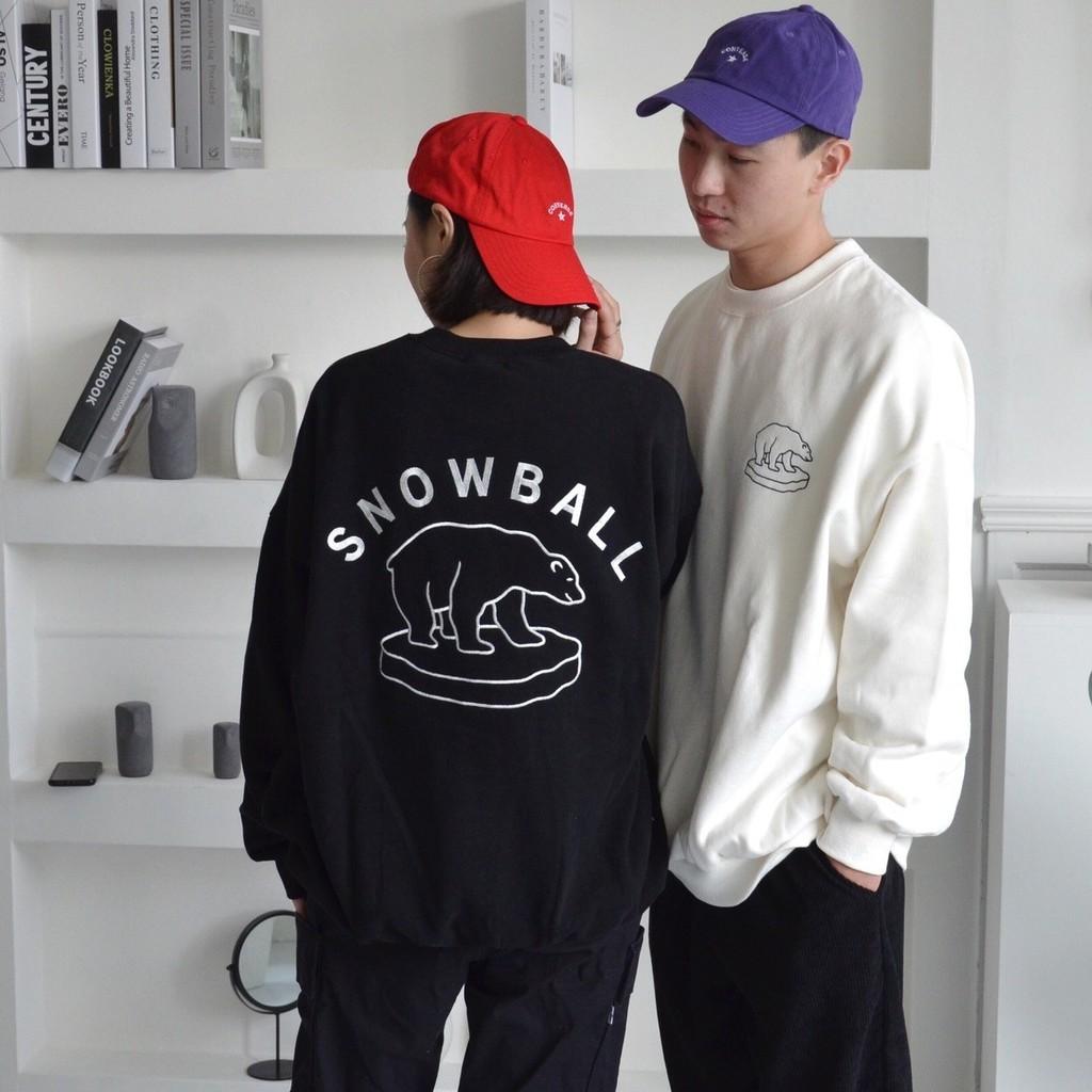 北極熊大學T 衛衣 長袖上衣 正韓 舒服 柔軟 男友衣 男女皆可穿 廠商直送 現貨