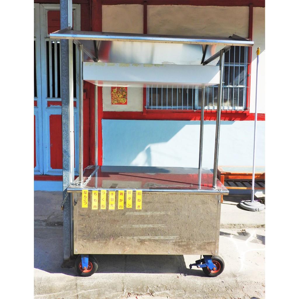 【二手平台攤車(4尺)】擺攤 燒烤 飲料 餐飲 夜市 菜市場 小生意 中古 跳蚤市場 餐車 市集