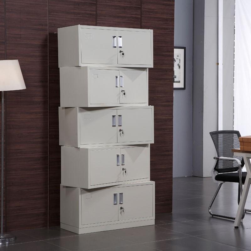 【免運費】鐵皮柜單層鋼制文件柜檔案柜財務憑證柜帶鎖儲物柜資料柜