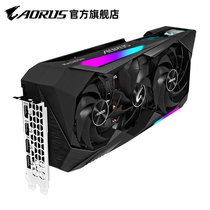 技嘉AORUS RX6800 XT 16GB AMD臺式電腦獨立遊戲顯卡