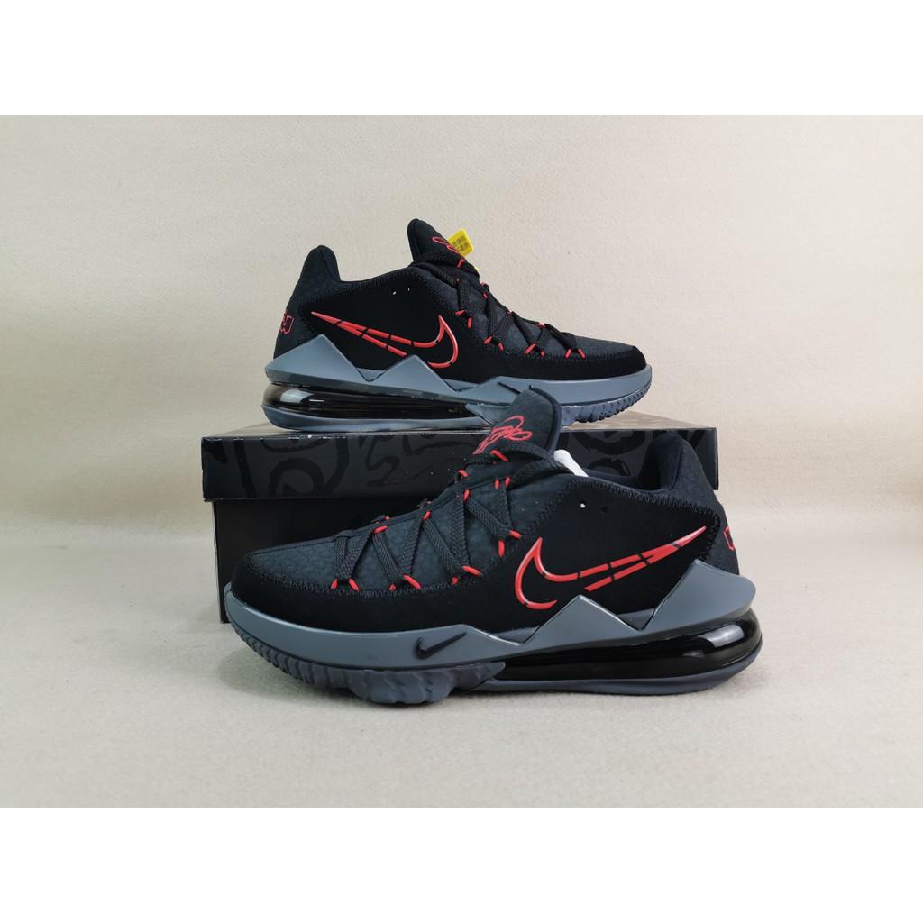 Nike 籃球鞋 LeBron Ambassador 17紫黑 湖人 男鞋 LBJ 大使【ACS