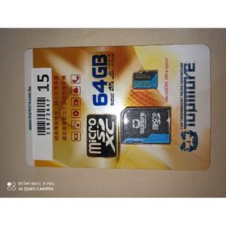 ★ 郵寄 免運 出清★  原廠終身保固!TOPMORE UHS- I(U3) 64GB microSDXC Class 10 桃園市