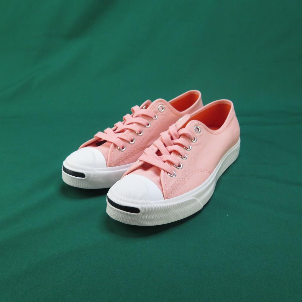 Converse Jack Purcell 開口笑 帆布鞋 公司正品 164108C 女款 櫻花色【iSport愛運動】