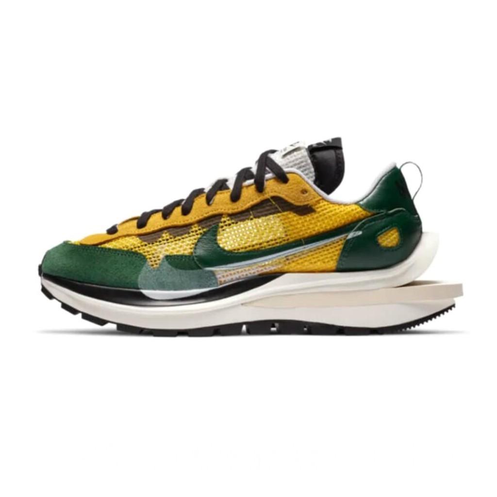 Sacai x Nike Vaporwaffle vapor waffle 2.0 黃綠