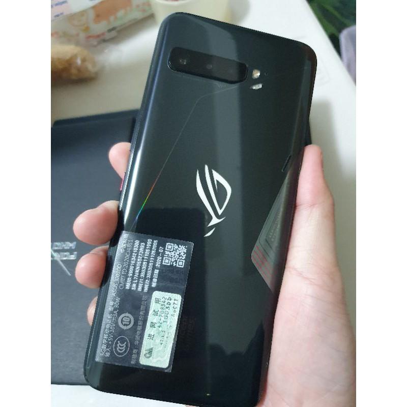 現貨華碩Asus 陸版 rog phone3 rogphone3 12+128經典版