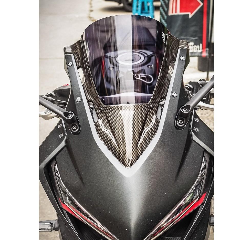 Moto橘皮 CBR650R 風鏡 碳纖維 cbr650f cbr500r cbr150r CBR250RR ZX10R