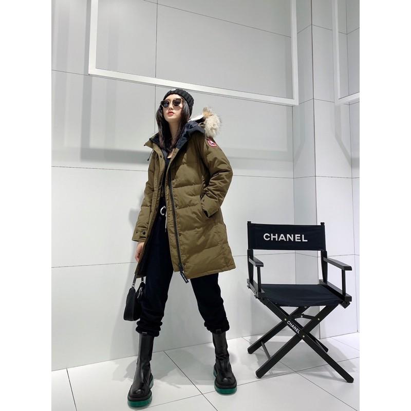 -SHM Fashion- 加拿大鵝  FUSION FIT 版 SHELBURNE 羽絨外套