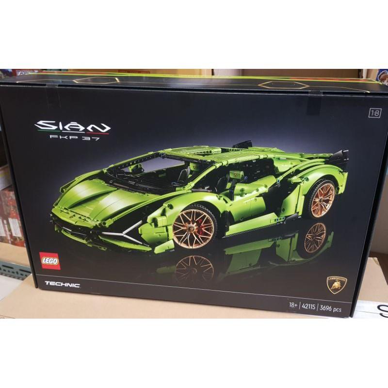 [NickDaDa] 正版 現貨 LEGO 42115 藍寶堅尼 Lamborghini Sián FKP 37