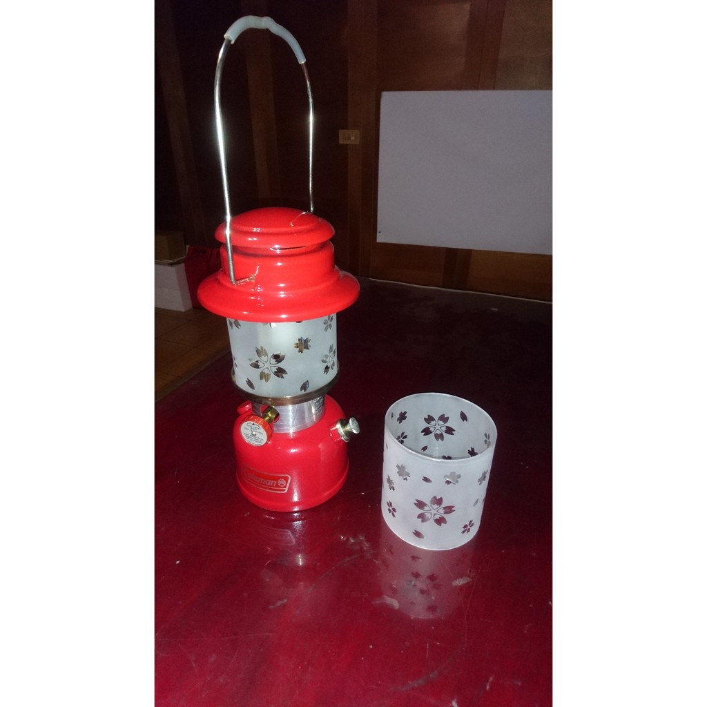 Coleman/Petromax/Santrax/BriteLyt/海錨 (500cp) 汽化燈玻璃燈罩 櫻花飄零系列