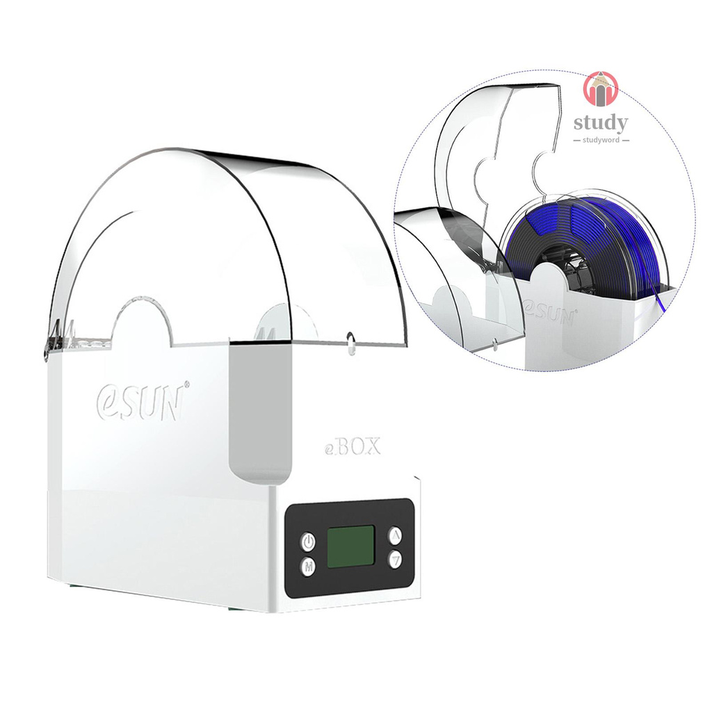 S&W eSUN eBOX 打印耗材盒子保持耗材乾燥測量耗材重量英規電壓100-240V