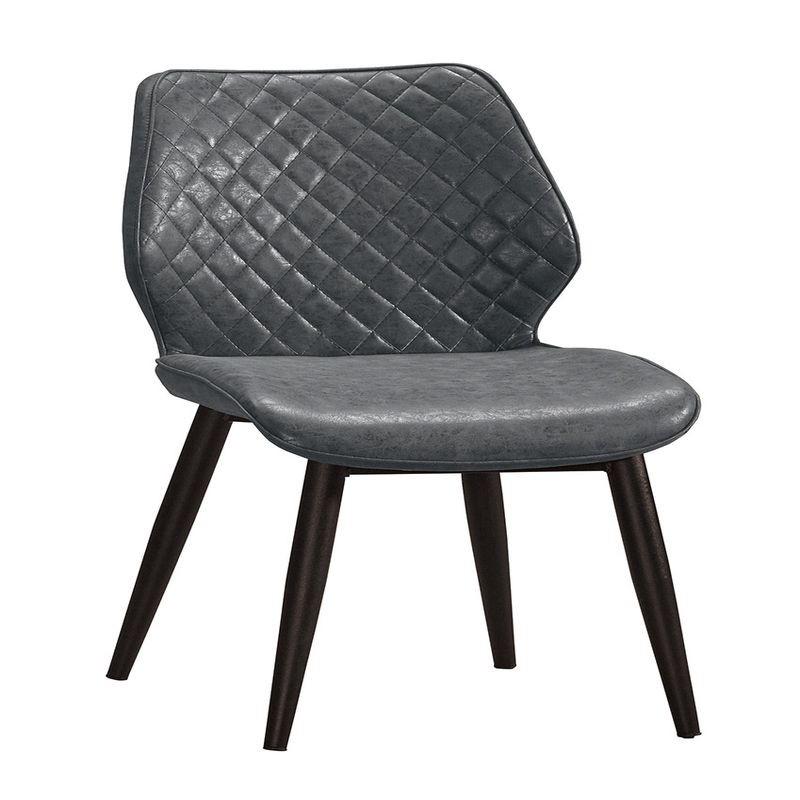 【GA904-19】妙蛙雲彩黑色皮餐椅