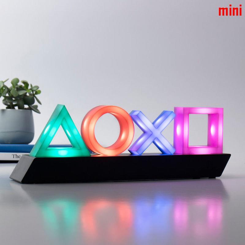 【現貨】PS4游戲圖標燈音樂節奏燈PlaySation ICONs light信仰燈LED小夜燈✨mini的小店✨