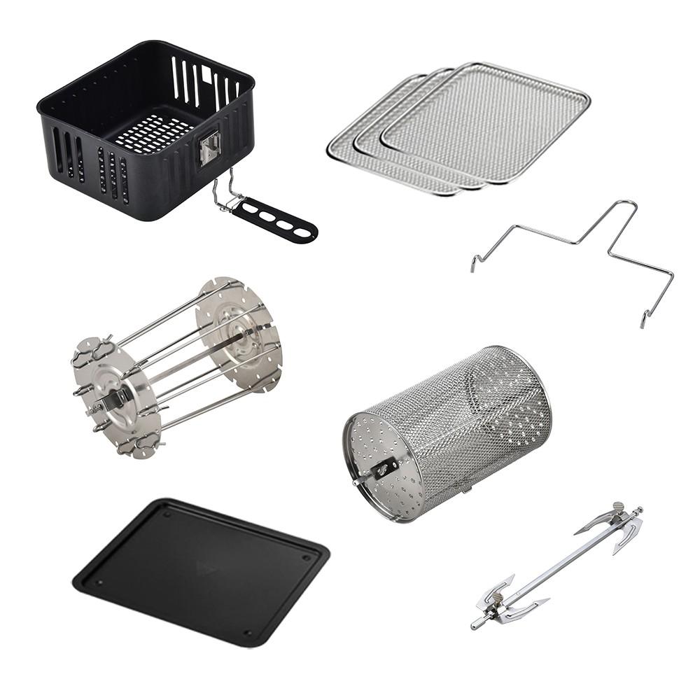 健康氣炸烤箱-大全配件組合包(AOC、愛迪生 、 安晴、Copper Chef)(K0066-6)