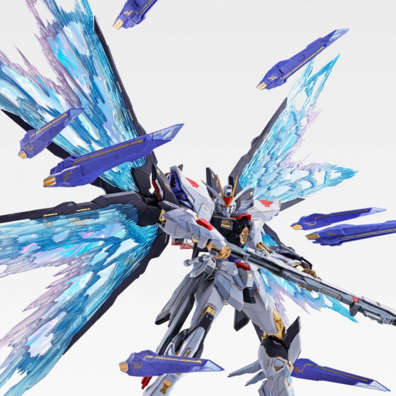 [全新未拆] BANDAI魂商 MB METAL BUILD 攻擊自由 光翼 SOUL BLUE 魂藍