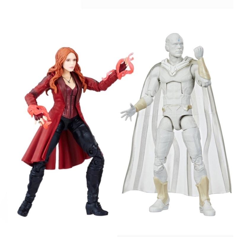 Marvel legends disney+緋紅女巫 白幻視 全新合售 汪達與幻視 復仇者聯盟 無限之戰 獵鷹與酷寒戰士