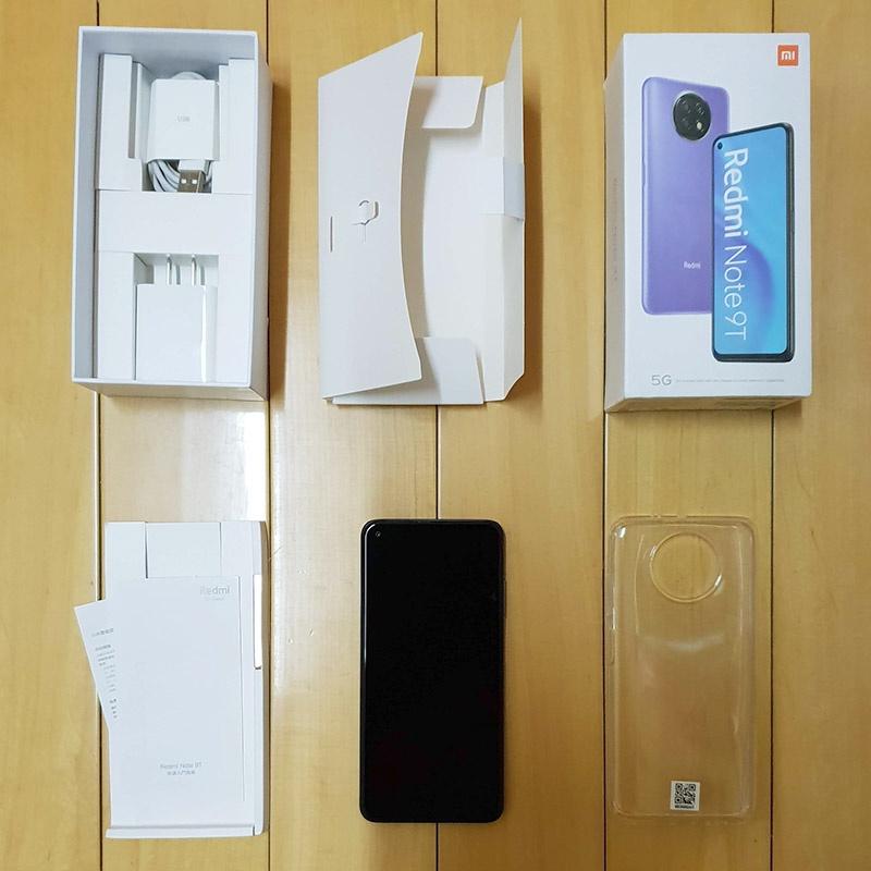 【二手保固中】台版 紅米 Note 9T 4G/128G 6.53吋 打孔螢幕 + 後置三鏡頭 5G雙卡雙待手機