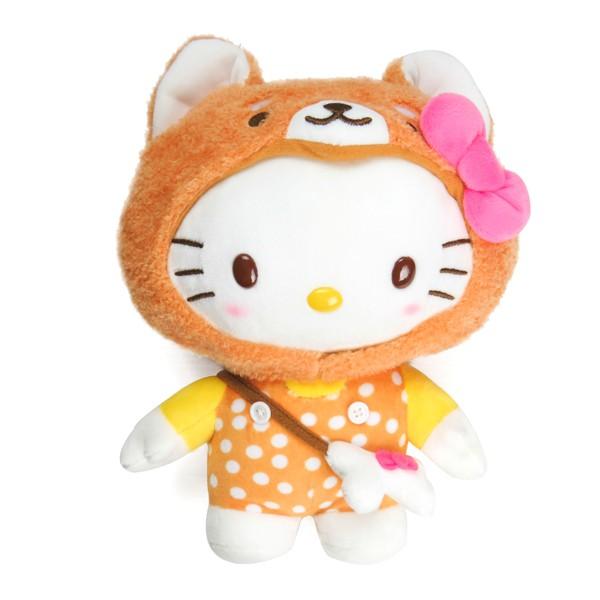 Hello Kitty柴犬造型8吋絨毛娃娃/公仔/玩偶/今日最便宜/貨到付款/現貨/禮物